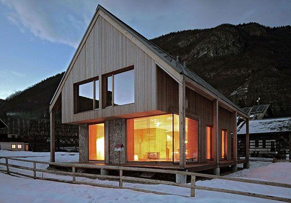 Case e hotel di montagna baite chalet e rifugi camera - Case di montagna moderne ...