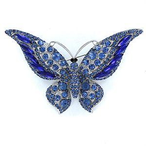 964261233dee Broche de bisuteria mariposa grande