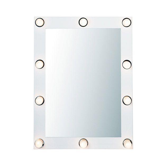 Specchio con luci maisons du monde make up pinterest - Specchio make up ikea ...