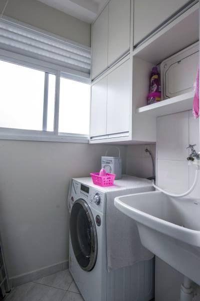 Área de serviço Decoraç u00e3o Cozinha Lavanderia, Lavanderia pequena e Banheiro pequeno