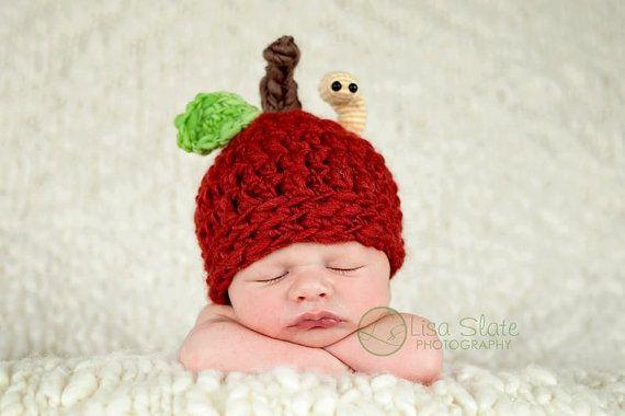 Baby apple hat!