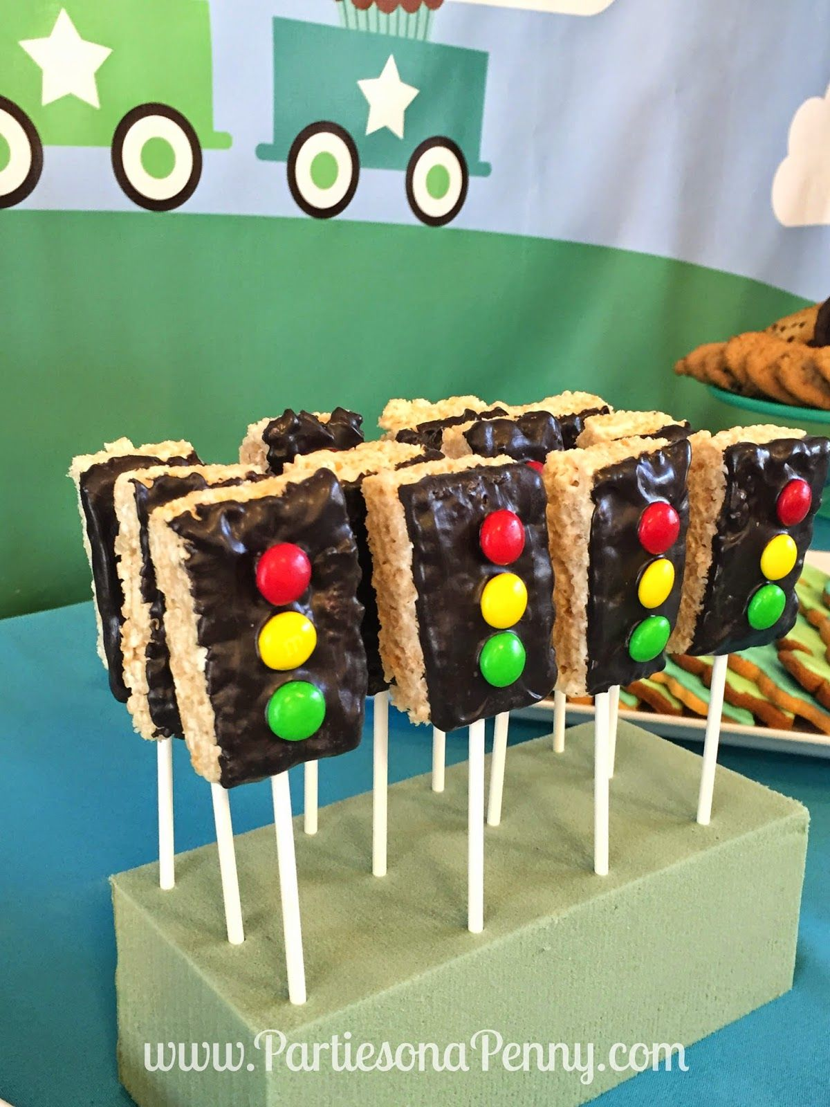 Train Themed 2nd Birthday Party Train Themed Desserts