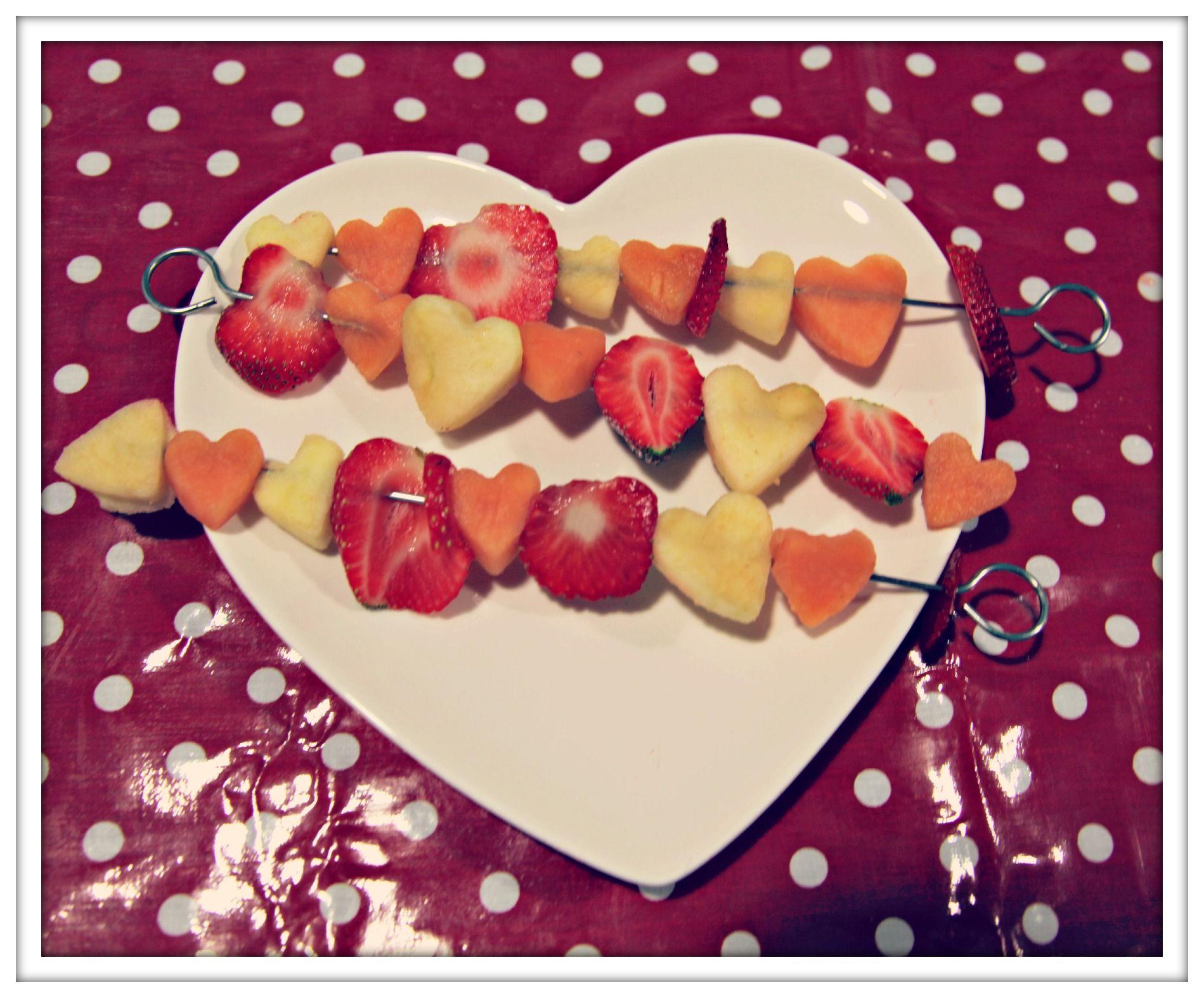 #Valentines love me fruit kebabs #LighterLife #Recipe