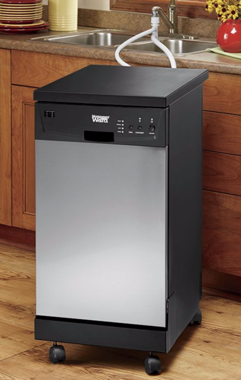 Save Time Cleaning Up The Kitchen This Thanksgiving With Our Portable Dishwasher This Appliance Is Just Th Portable Dishwasher Small Dishwasher Bad Room Ideas