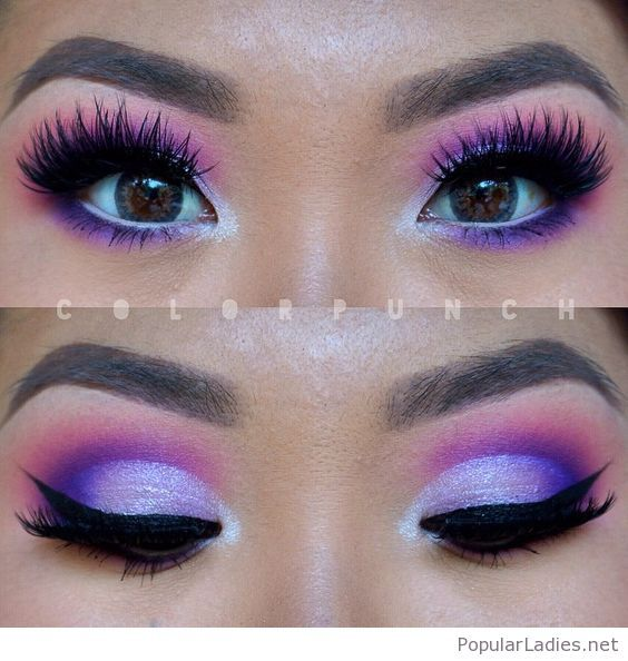 Pink And Purple Eye Makeup Combo In 2018 Cute Make Up Pinterest