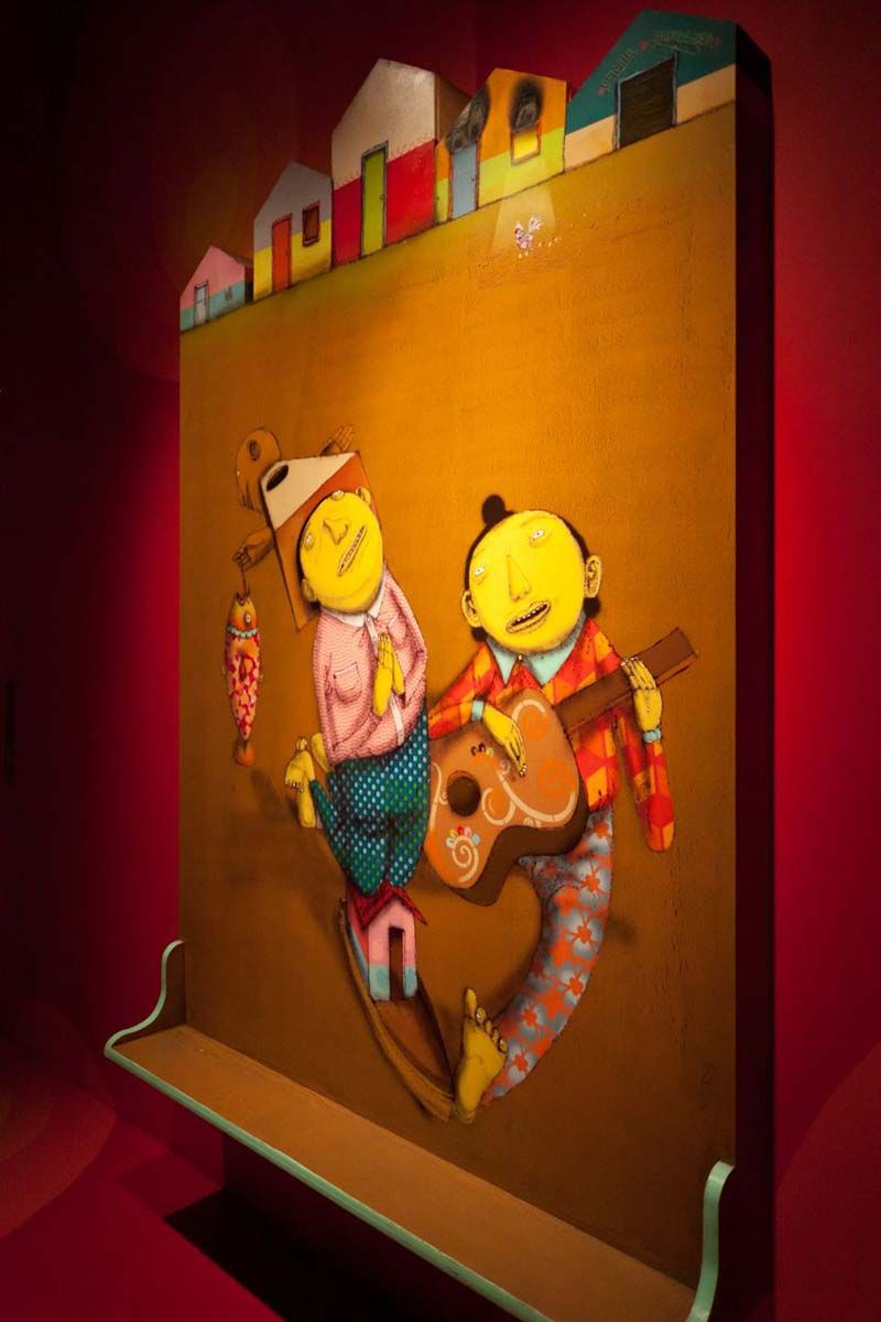 """Os Gemeos """"Miss You"""" Exhibition at PRISM Gallery"""