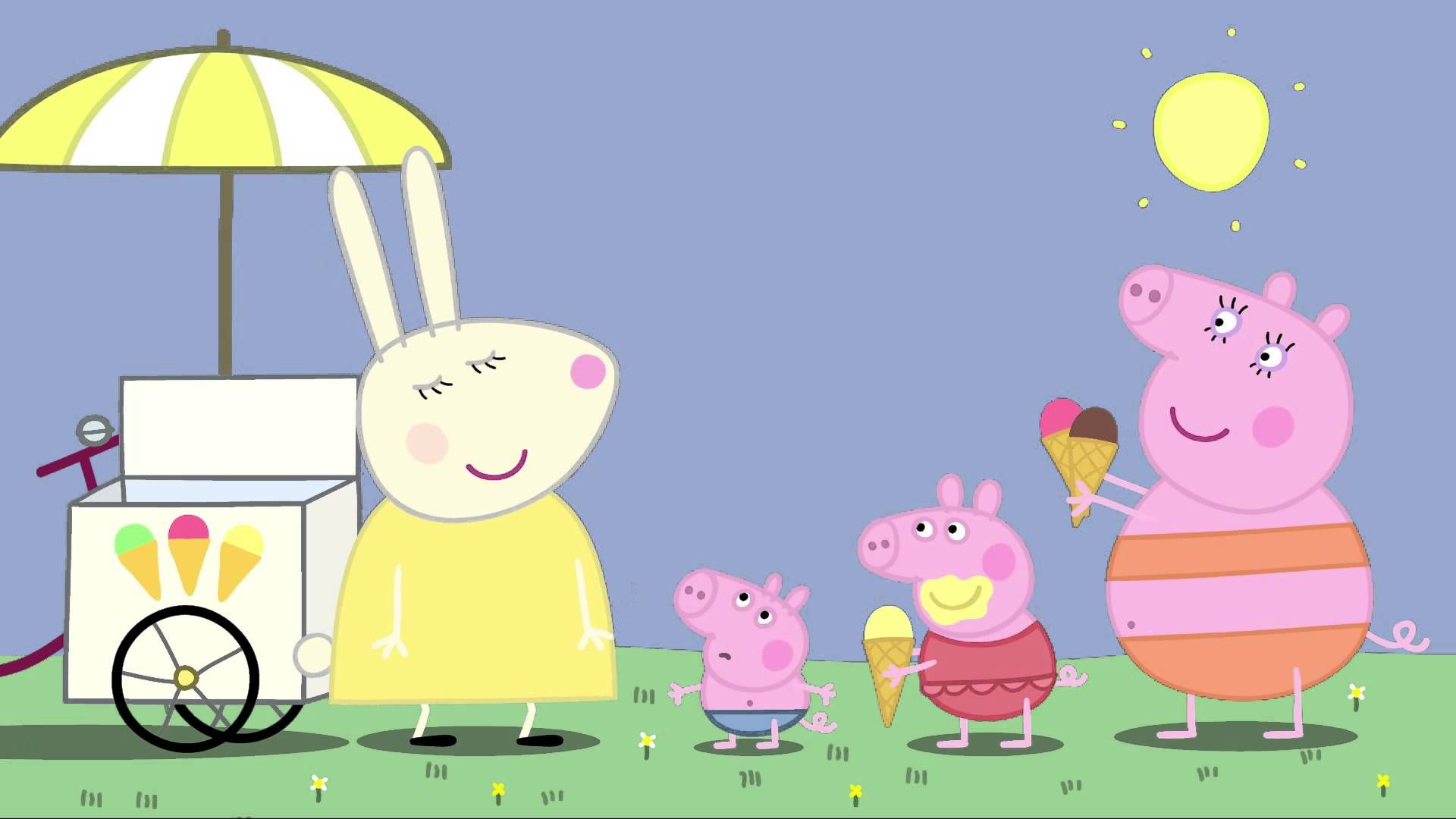 Peppa Pig Very Hot Day Animated Movies For Kids Peppa Pig
