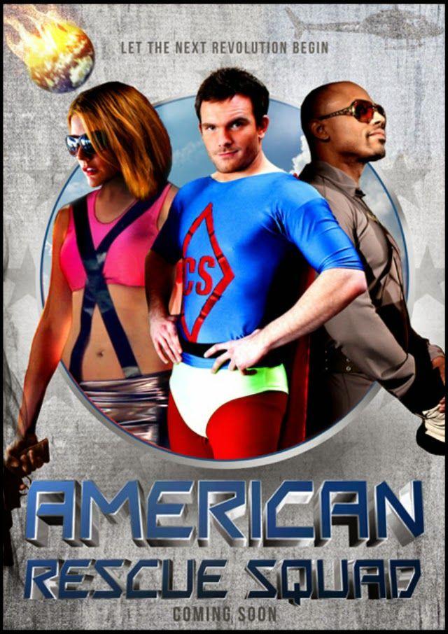 American Rescue Squad Satire Of The Superhero Genre Click The