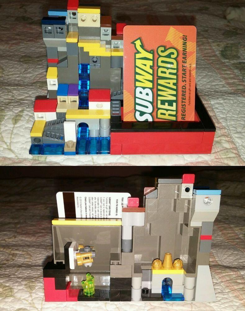 Lego Visitenkarte Zusammen Mit Lego Visitenkartenhalter