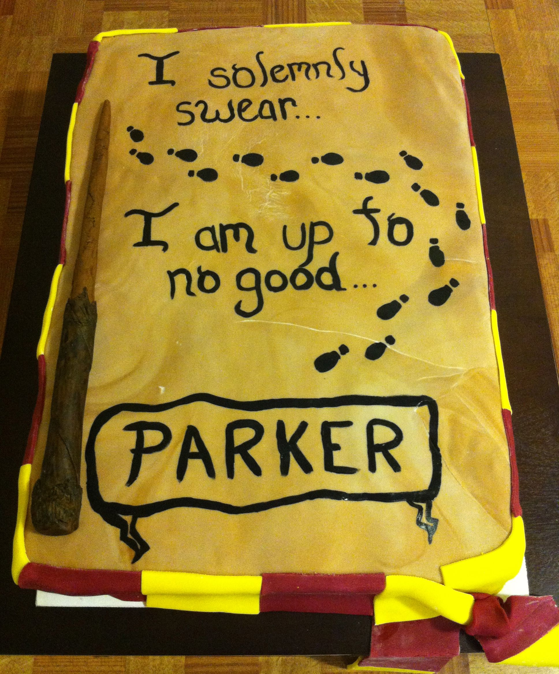 Harry Potter Cake Made By Lacie S Cakes Harry Potter Birthday