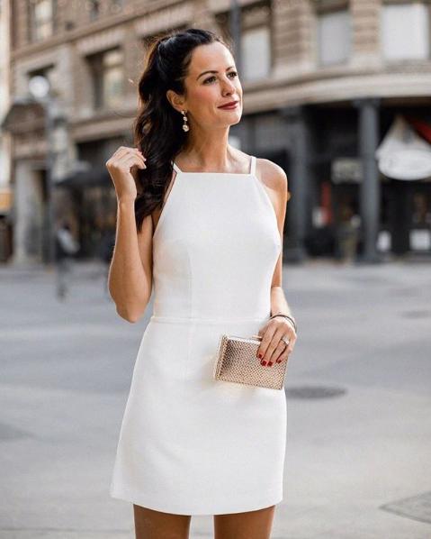 a400d1d05ea Whisper Light Mini Dress | dream closet | Dresses, White mini dress ...