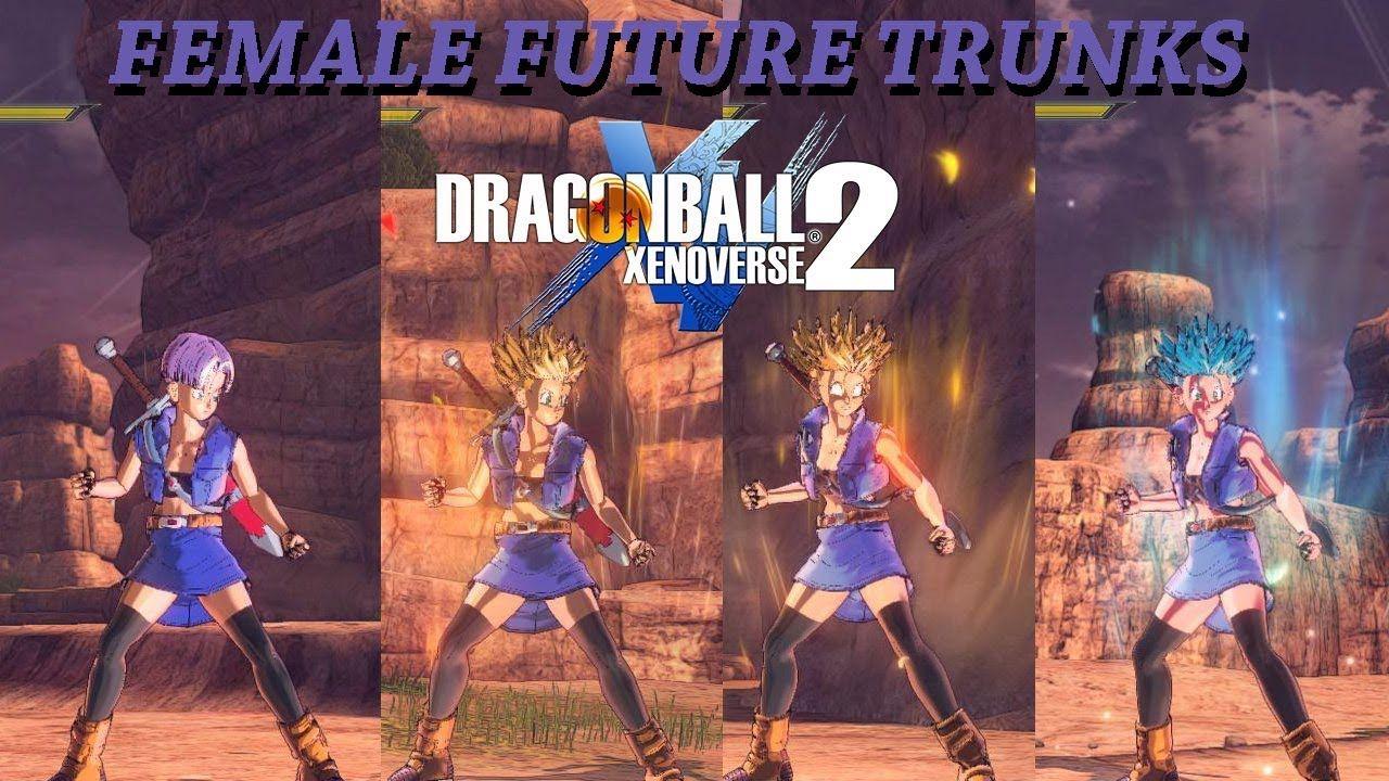 Female Future Trunks Dragon Ball Xenoverse 2 Mods Dragon
