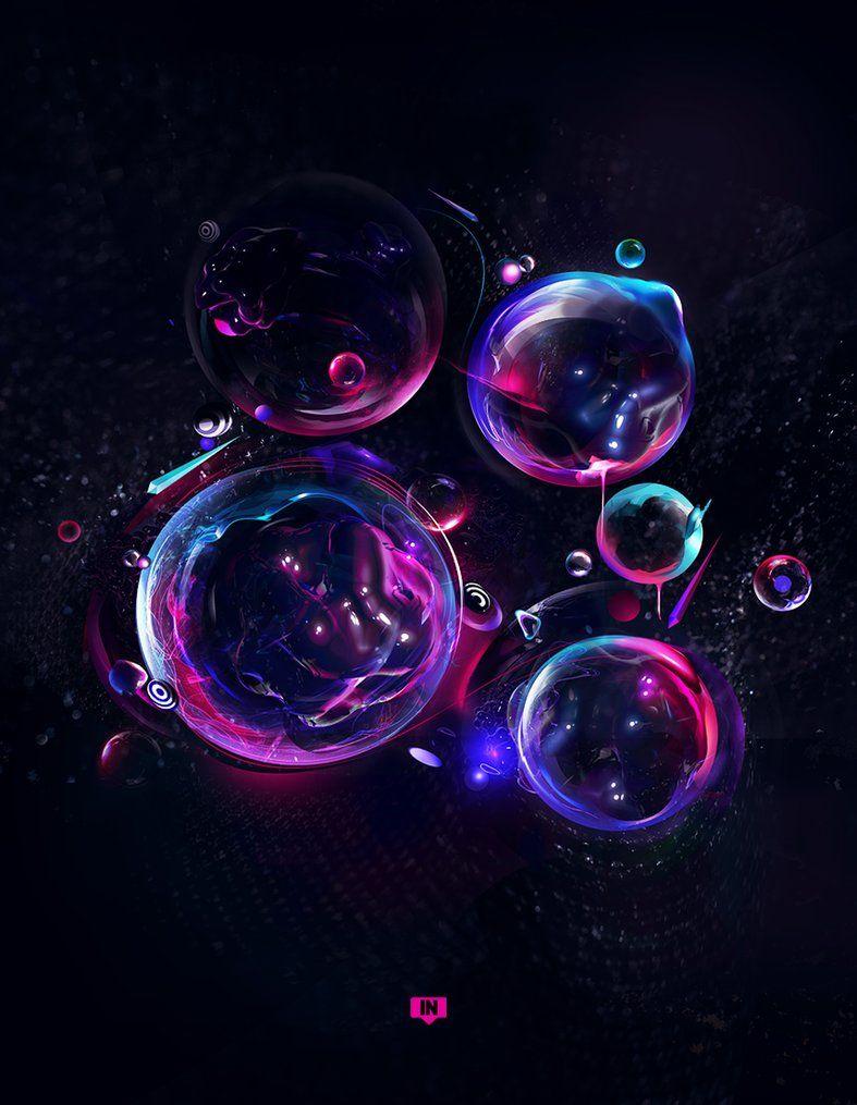 Teardrop By Humanlg On Deviantart Bubbles Cool Artwork Design