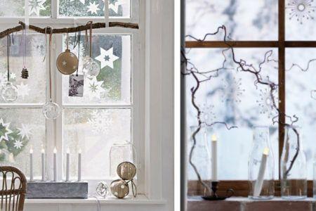 Decorazione Finestre Per Natale : Decorazioni natalizie per addobbare finestre e balconi. 20 idee per