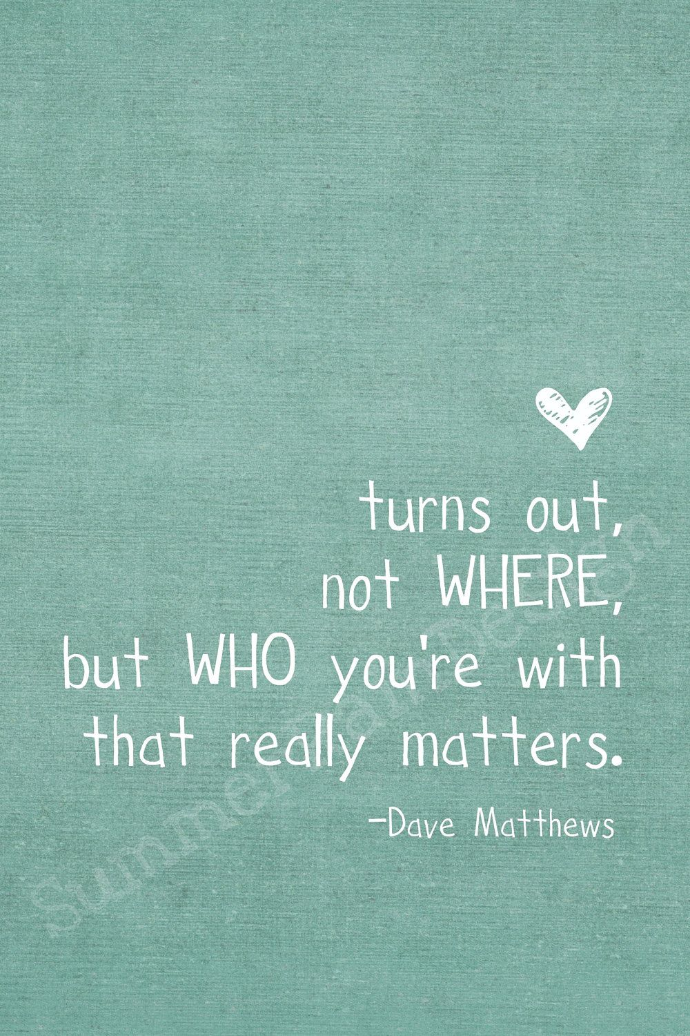 Dave Matthews Band speaks the truth.