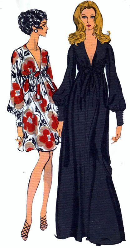 Vintage Sewing Pattern Vogue 7630 Evening or Cocktail Dress with ...