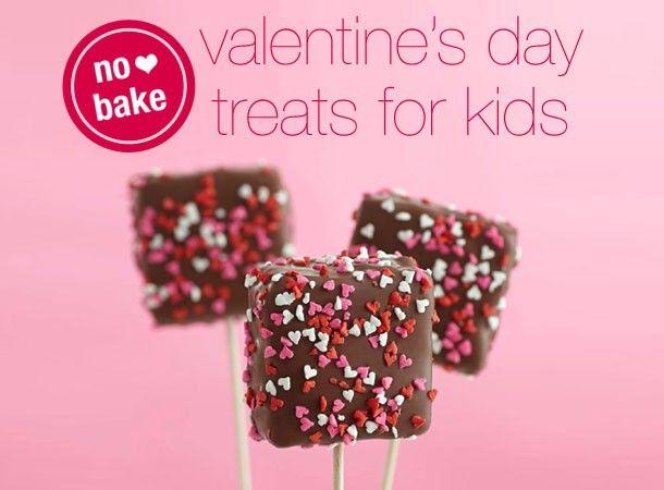 no bake valentine treats for kids - Kid Valentines