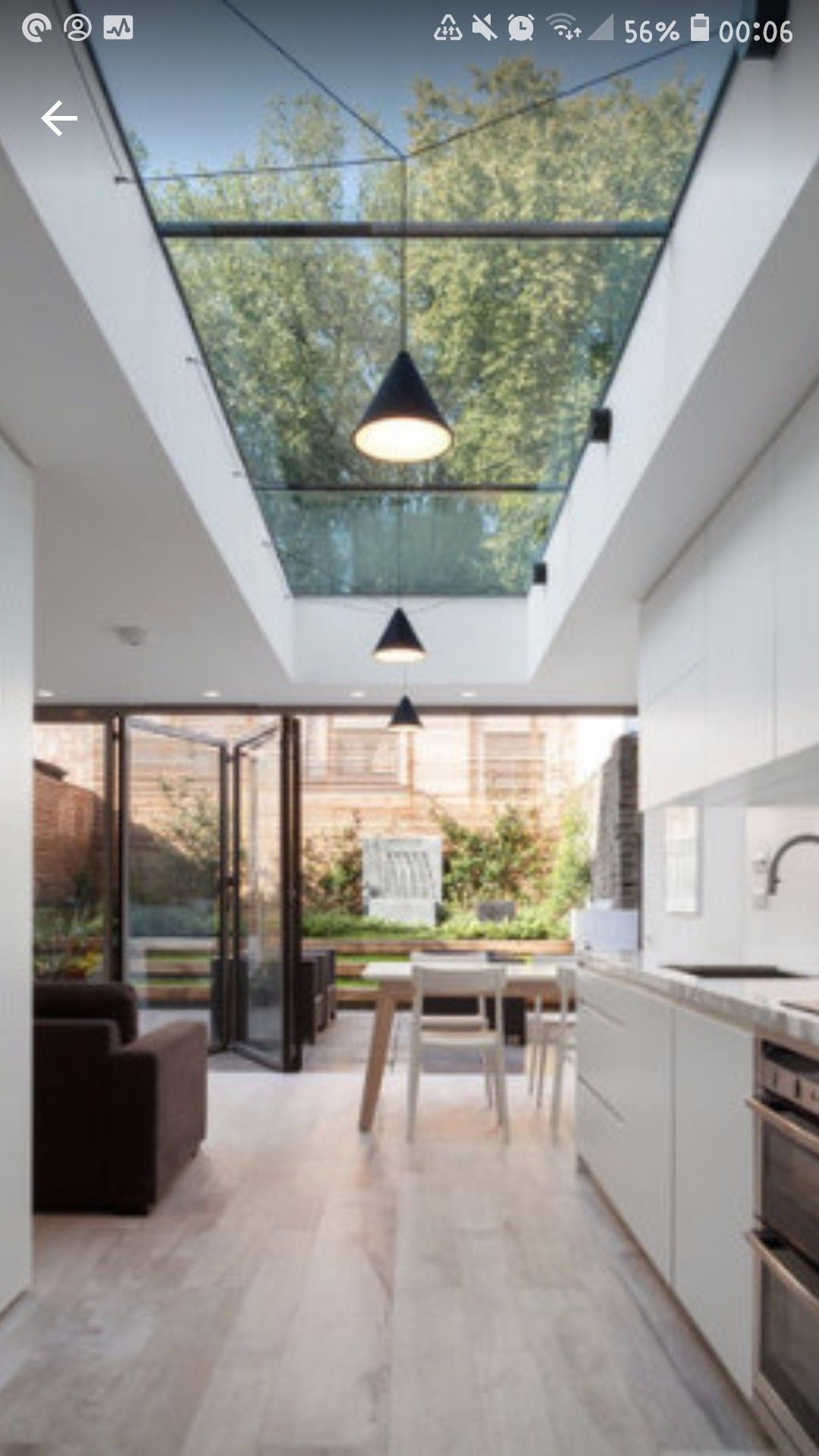 Pin By Amy Moonbeam On Roof Structure Ideas Skylight Kitchen House Design Modern Kitchen Design