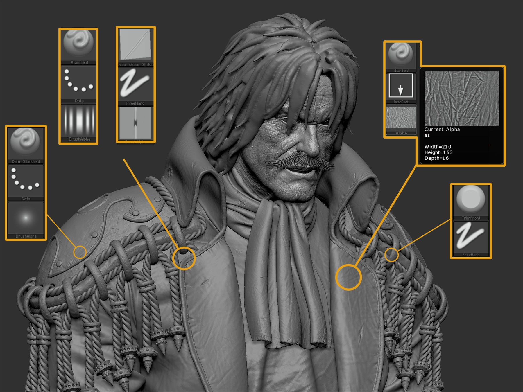 Character Design Maya Tutorial : 《one piece:freedom》 page zbrush tips pinterest