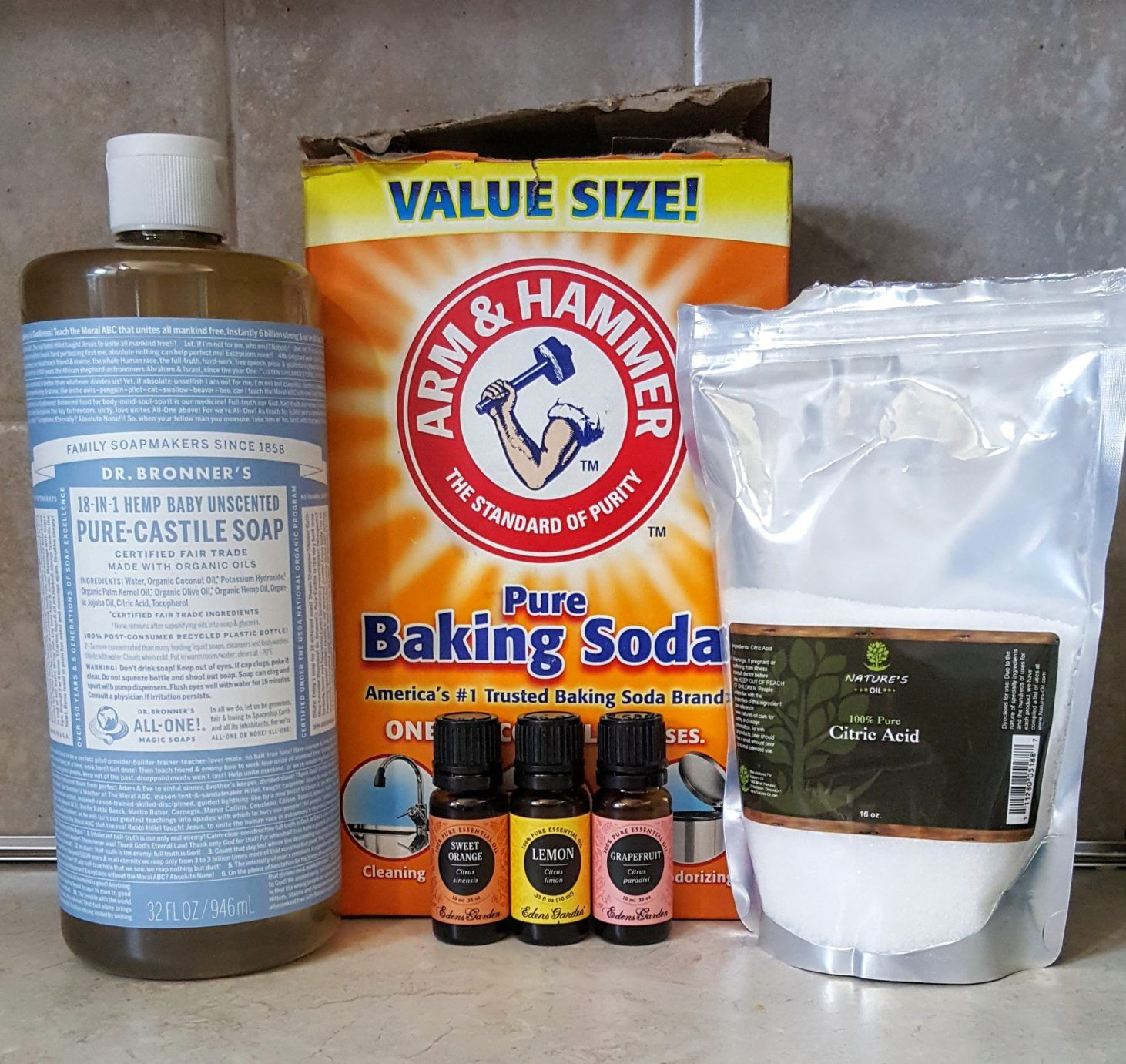 diy natural chemical free dishwasher detergent castile soap, washing