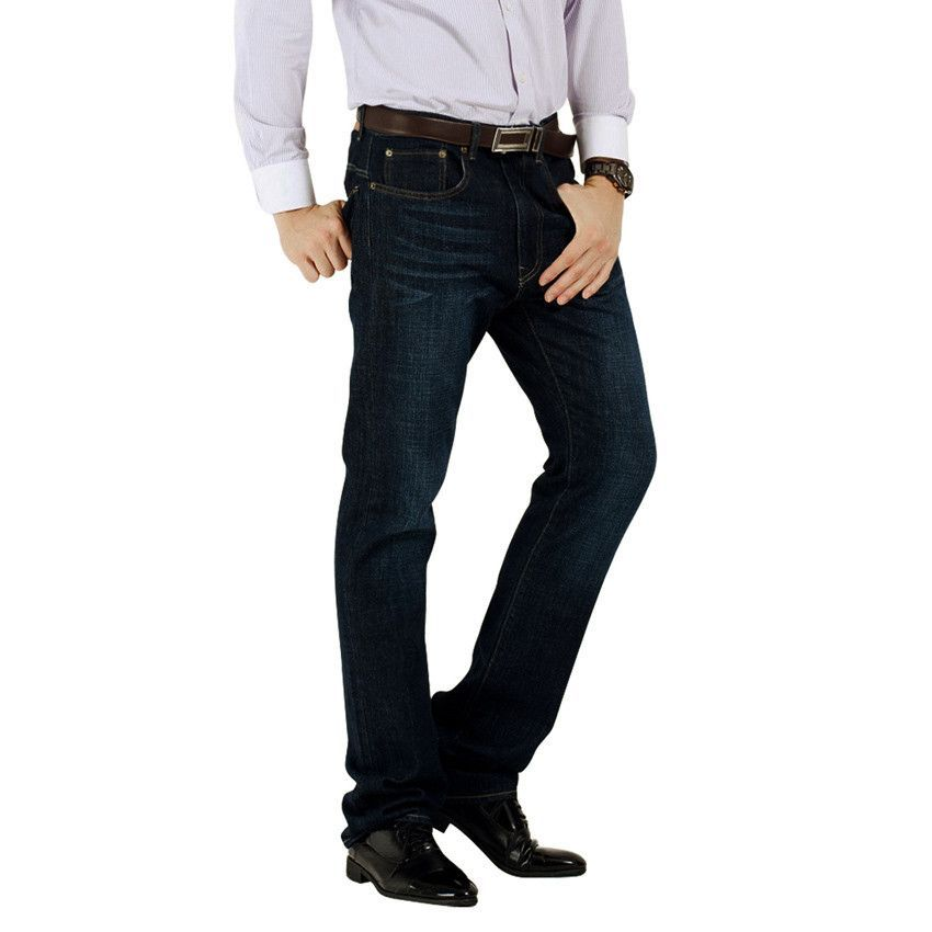 Straight Fit Stonewashed Jeans Plus Size