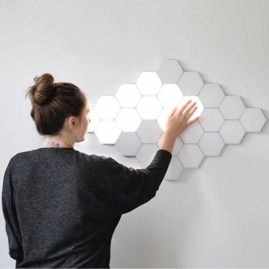 Hexalamp Modular Touch Light Official Ukiyo Store Touch Lamp Motion Lights Wall Lights