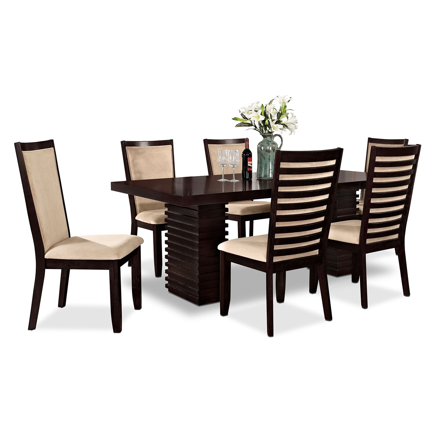 Dining Room Furniture Paragon 7 Pc Dinette
