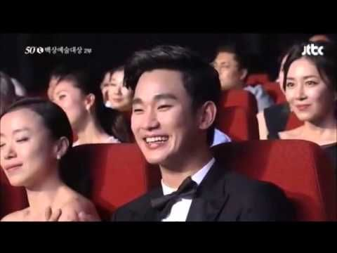Jeon Jihyun thanks to Kim Soo Hyun 50th Baeksang Art Awards