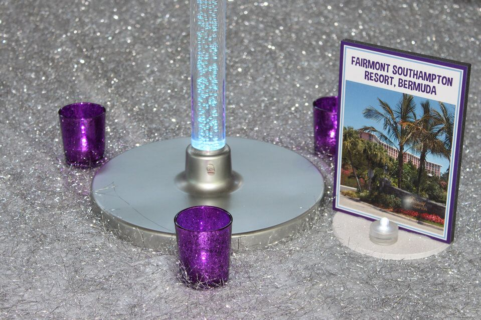 Resorts Table Sign - BAT MITZVAHS