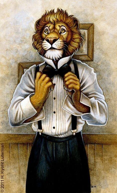 день картинки человека с головой льва самых