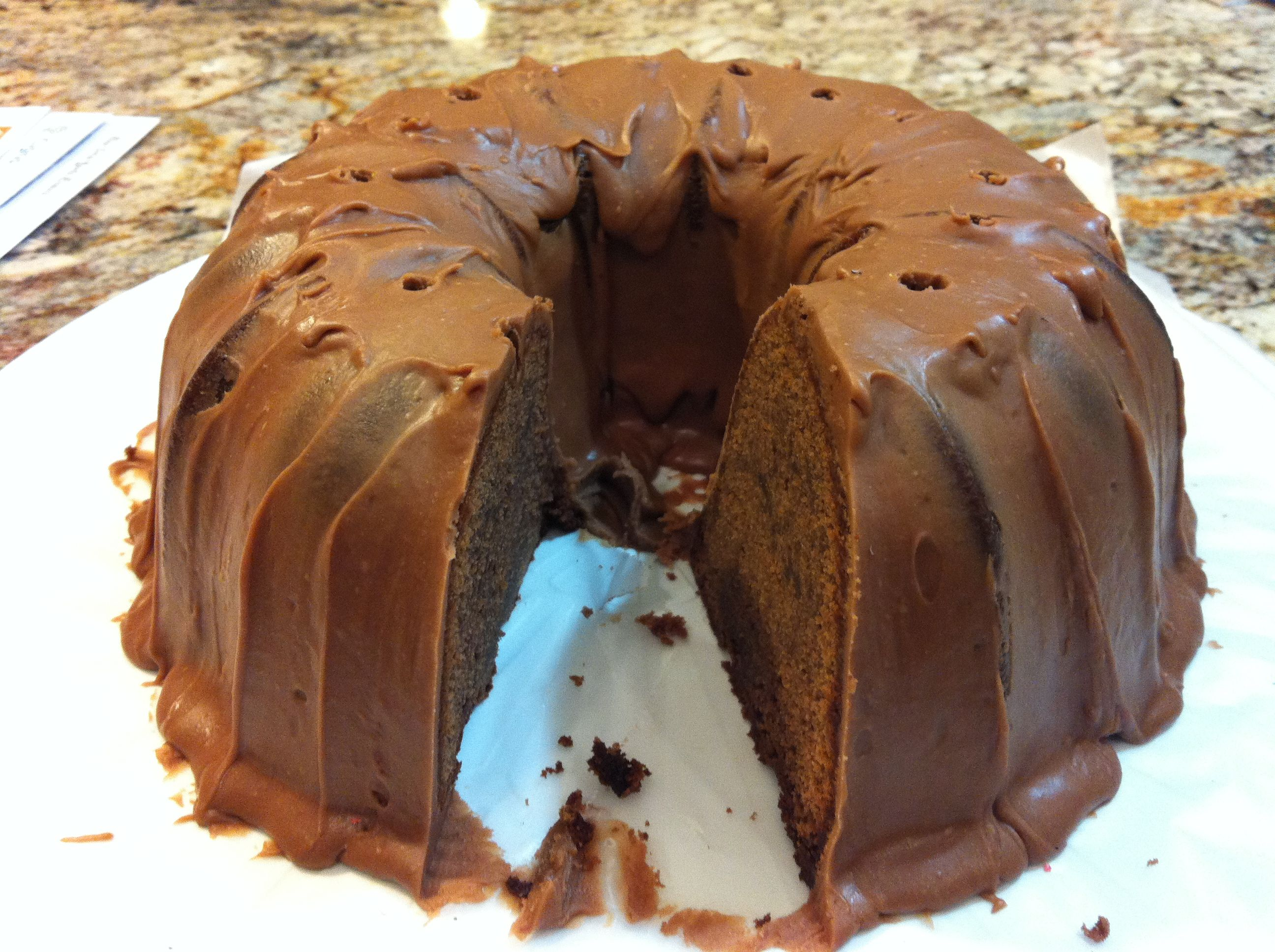 Another successful hershey bar cake hershey bar cakes