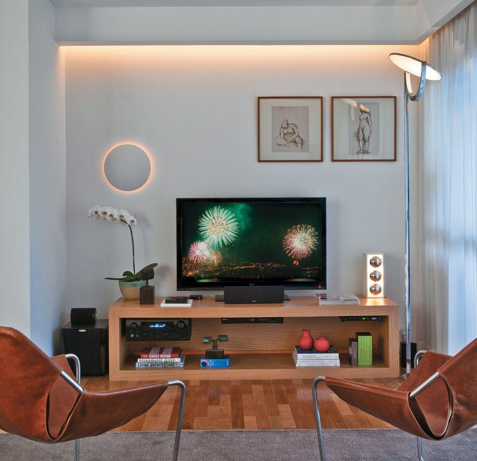 Top 40 Best Home Theater Lighting Ideas: Quatro Projetos De Iluminação Em Sala, Cozinha E Corredor
