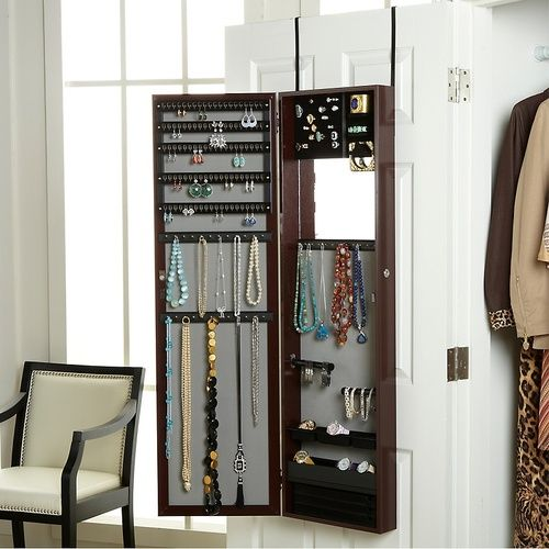 Over the Door Jewelry Armoire 120 Joyus This doubles as a