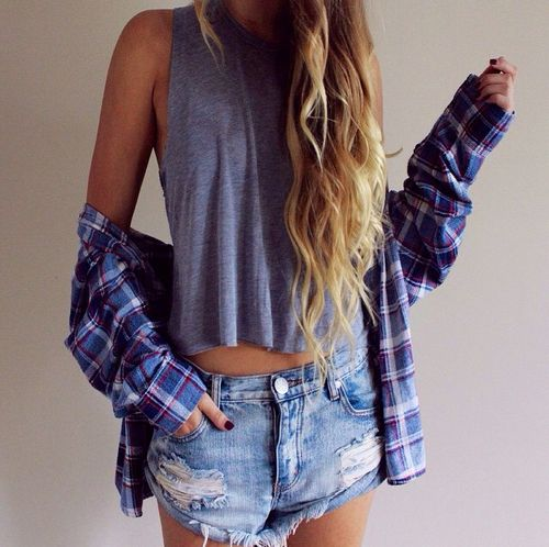 7207a3b36d Easy breezy summer style. | Girl | Fashion, Style, Fashion outfits