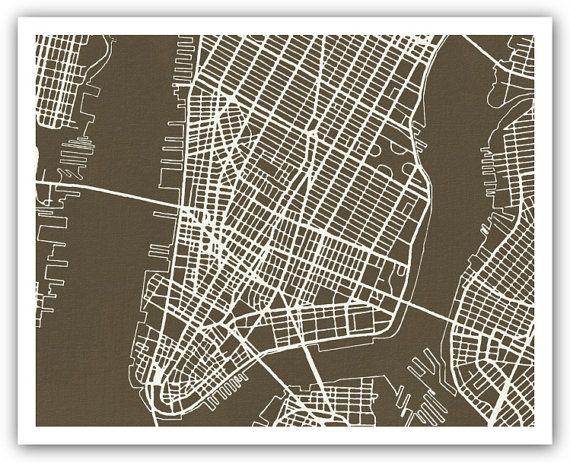 'The Measure of Manhattan': The grid plan of New York ...  New York City Grid Map
