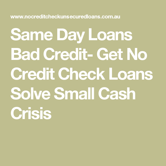 Fast Loans No Credit Check- Get Fast Cash Help For People ...