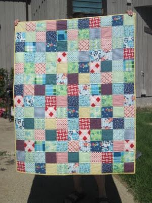 Picnic and Fairgrounds Patchwork Quilt