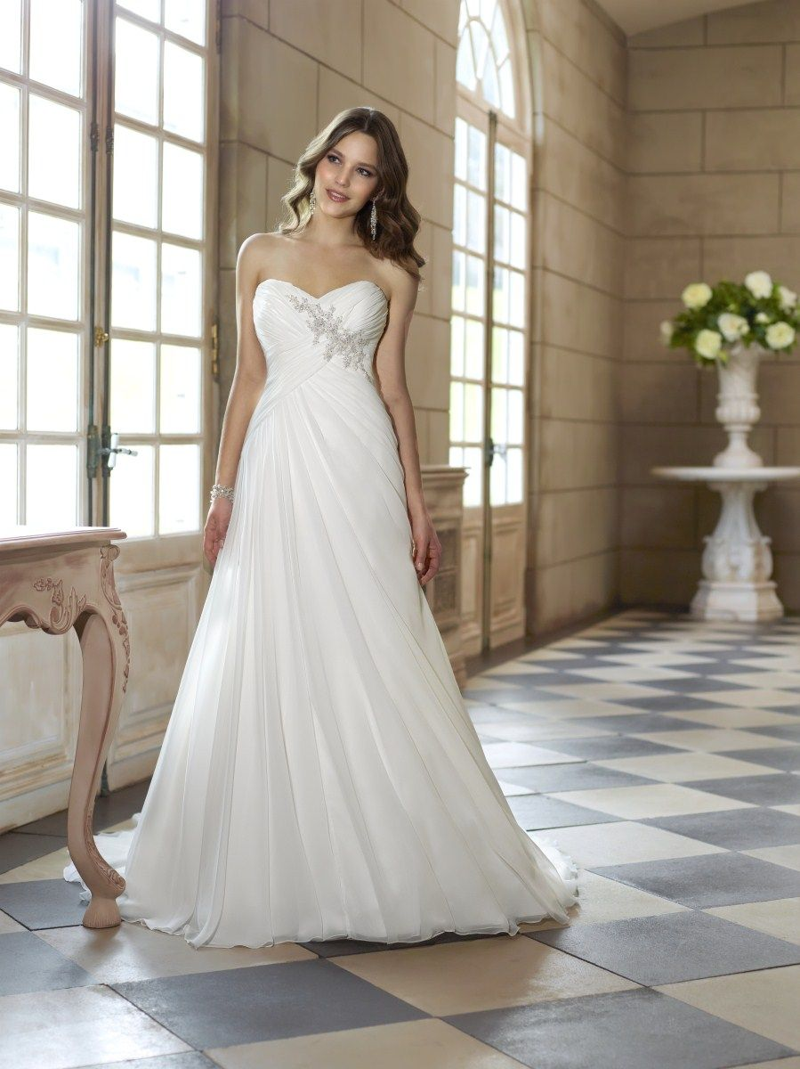Stella york beautiful destination gown for an intimate wedding