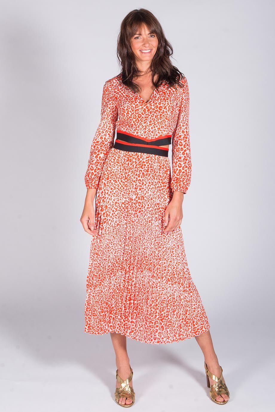 robe longue maje ajourée