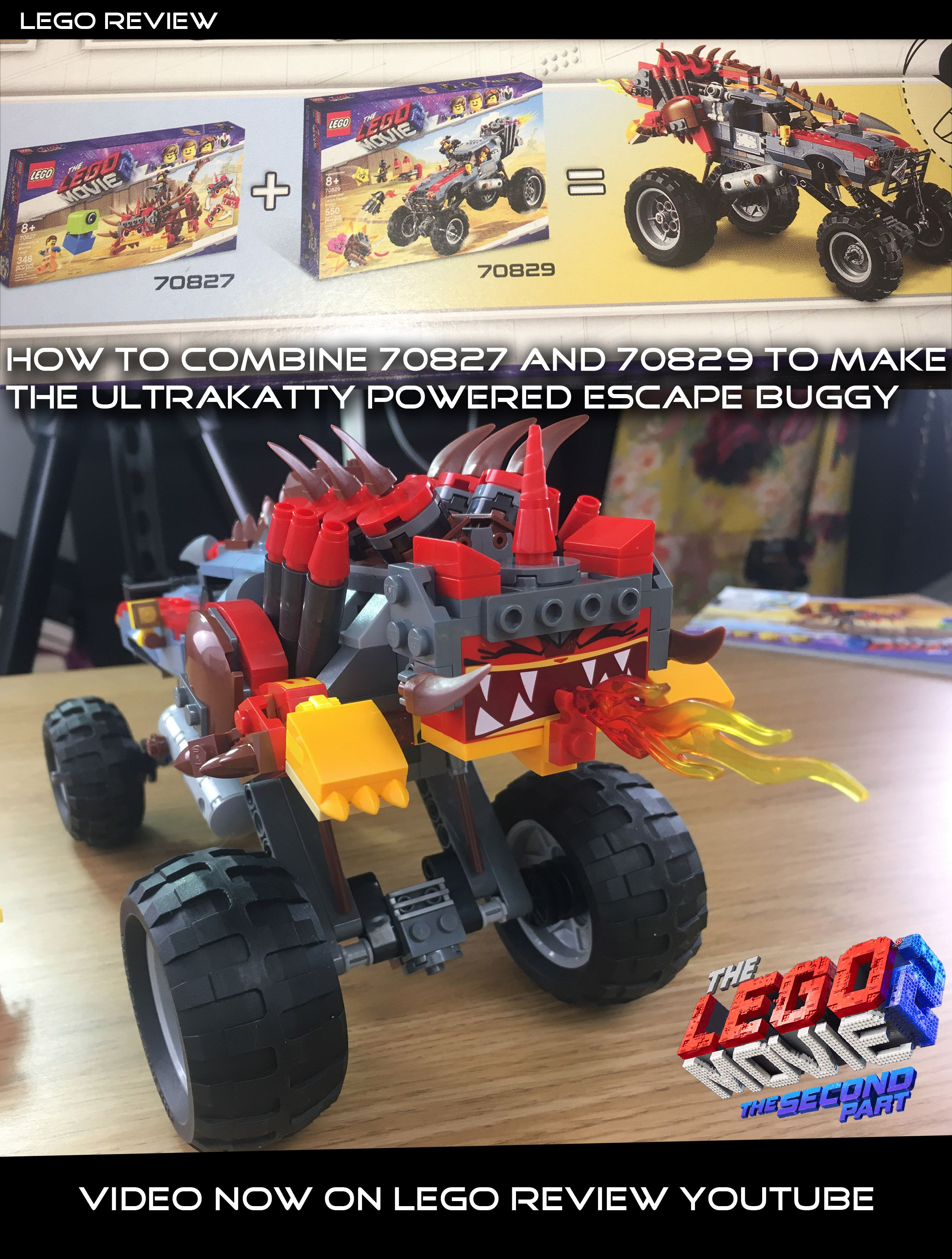 And 70829 The Sets Lego Know Combine How 70827 Wanna Can You XOiZPTku