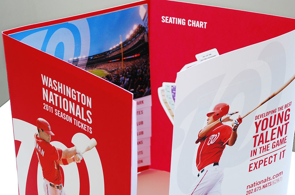 Season Ticket Brochure  Design  Sports Advertising