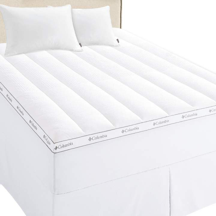 Columbia Ice Fiber Cooling 3 In Mattress Topper In 2020 Mattress Topper Mattress Best Mattress