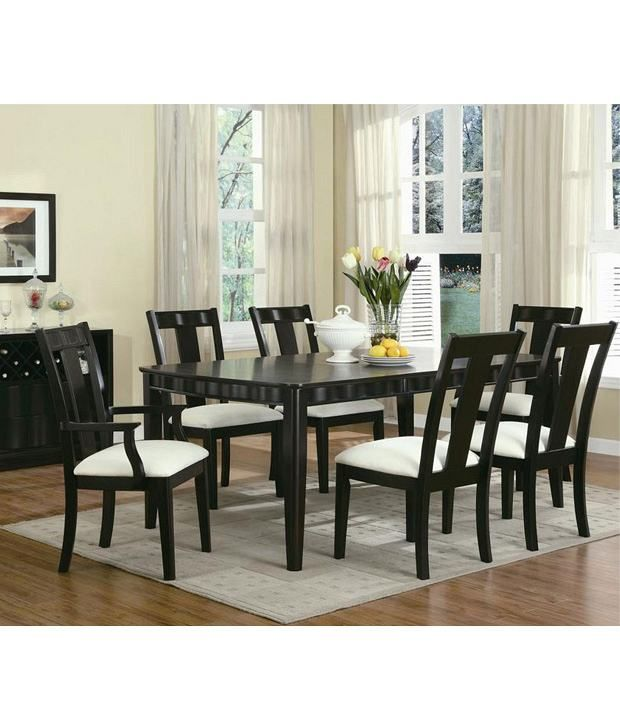 Loved It Dream Furniture Teak Wood 6 Seater Luxury Dining Table Extraordinary Cheap Dining Room Sets Under 100 Design Ideas