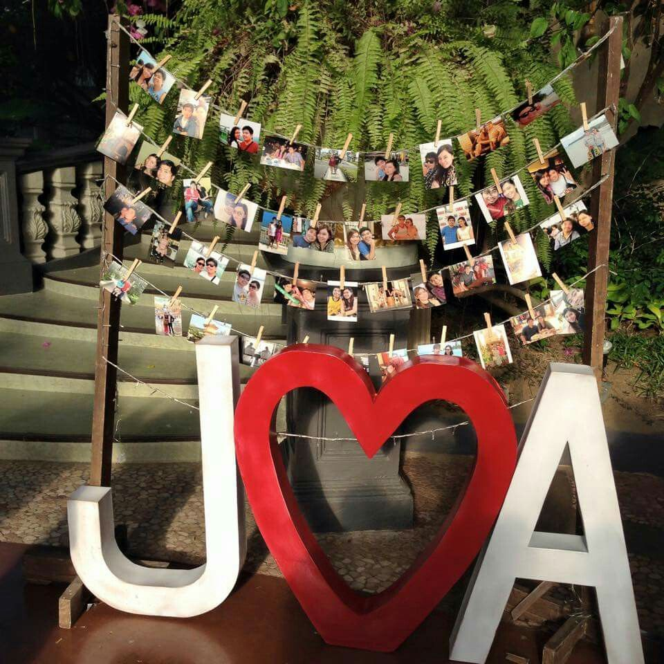 letter standee and photo wall letter standee wedding letters wedding preparation photo wall