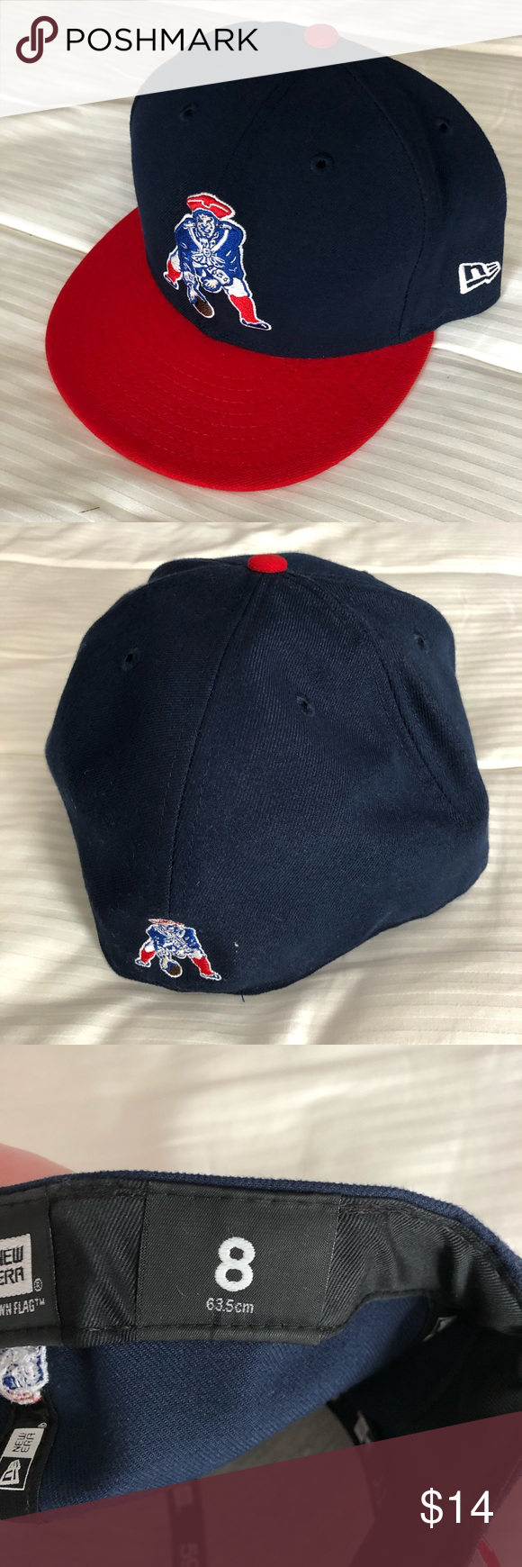 New England Patriots New Era 59fifty Fitted Hat Fitted Hats New Era 59fifty New Era