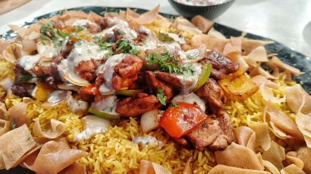 فته شيش طاووق Food Rice