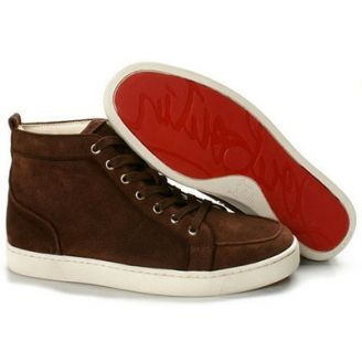 a4127d28777 Christian Louboutin Louis Sneakers Mens Cream Red Bottom Shoes ...