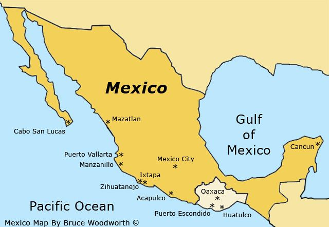 Oaxaca Mexico Map Oaxacan Animals Pinterest Oaxaca mexico map