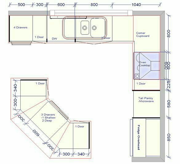L Shaped Kitchen Layout Dimensions 50 little kitchens that will change everything you know about