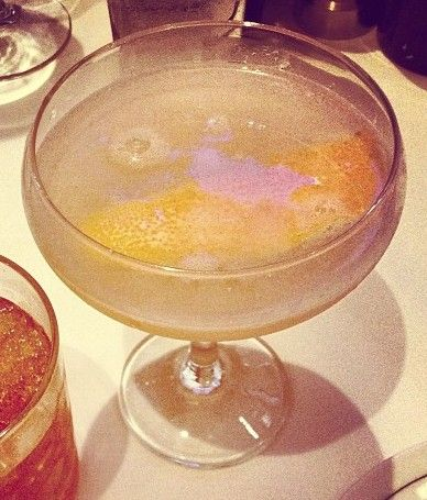 Silver Lining summer cocktail, available at Max Fish - Glastonbury, CT